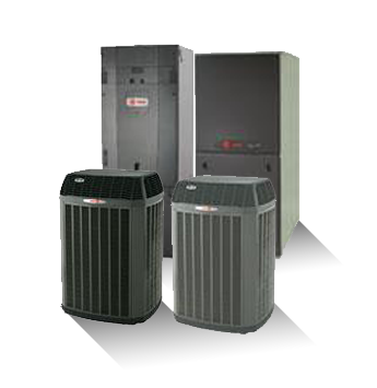 Heat Pump, Air Handler, Gas Furnace and Air Conditioner